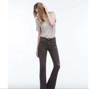 AG Adriano Goldschmied Janie High Rise Flare Jeans